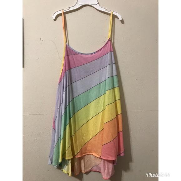 416ba68b8a WILDFOX Vintage Rainbow Cover up. M_5a3606981dffda6b3103a909